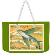 1984 Vietnam Flying Fish Postage Stamp Weekender Tote Bag