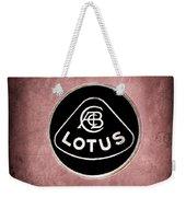 1986 Lotus Turbo Esprit Hcl Emblem -1734ac Weekender Tote Bag