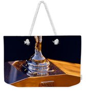 1986 Rolls-royce Hood Ornament Weekender Tote Bag
