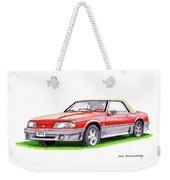 1989 Saleen Mustang Convertible Weekender Tote Bag