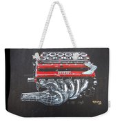 1990 Ferrari F1 Engine V12 Weekender Tote Bag