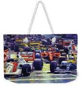 1992 Monaco Gp Start  Weekender Tote Bag