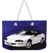 1995 Camaro Convertible Weekender Tote Bag