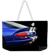1995 Dodge Viper Coupe 'tail' Weekender Tote Bag