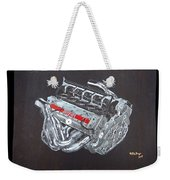 1996 Ferrari F1 V10 Engine Weekender Tote Bag