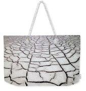 1a6832 Mud Cracks In Death Valley Weekender Tote Bag