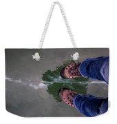 Standing On Thin Ice 2 Weekender Tote Bag