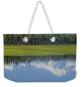1m1326 Wife And Son In Denali National Park Weekender Tote Bag