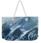 1m9314 Clouds Over The Tetons Weekender Tote Bag