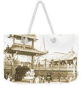 1904 Worlds Fair, Chinese Village Weekender Tote Bag