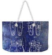 1927 Football Pants Patent Weekender Tote Bag