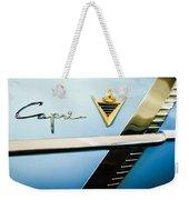 1953 Lincoln Capri Emblem Weekender Tote Bag