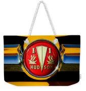1954 Hudson Grille Emblem Weekender Tote Bag