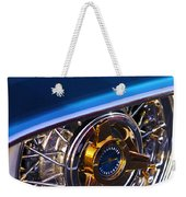 1957 Ford Thunderbird Wheel Weekender Tote Bag