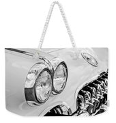 1959 Chevrolet Corvette Grille Weekender Tote Bag