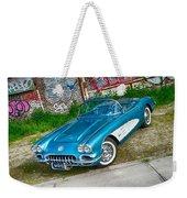 1959 Chevrolet Corvette Weekender Tote Bag