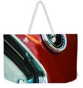 1969 Ford Mustang Mach 1 Emblem Weekender Tote Bag by Jill Reger