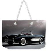'56 Corvette Convertible Weekender Tote Bag