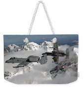 A-10 Thunderbolt IIs Fly Weekender Tote Bag by Stocktrek Images