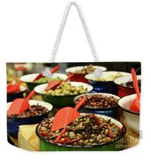 A Bowl Of Black Olives  Weekender Tote Bag
