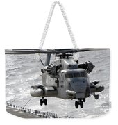 A Ch-53e Super Stallion Helicopter Weekender Tote Bag by Stocktrek Images