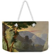 A Mountain Lake In The Italian Alps Weekender Tote Bag