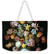 A Still Life Of Flowers Weekender Tote Bag