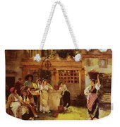 A Venetian Fan Seller Henry Woods Weekender Tote Bag