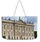 A View Of Chatsworth House, Great Britain Weekender Tote Bag
