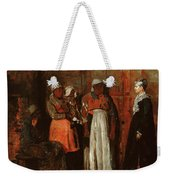 A Visit From The Old Mistress Weekender Tote Bag