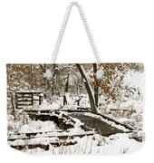 A Winter's Day Weekender Tote Bag
