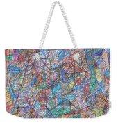 Abstract 10 Weekender Tote Bag