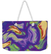 Abstract Fractal Background Weekender Tote Bag