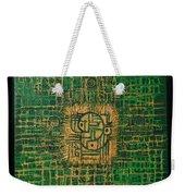 Abstract Green Weekender Tote Bag