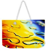 Abstract Water Weekender Tote Bag