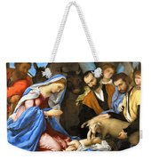 Adoration Weekender Tote Bag