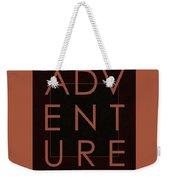 Adventure  Weekender Tote Bag