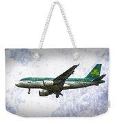 Aer Lingus Airbus A319 Art Weekender Tote Bag