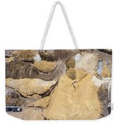 Aerial View Over The Sandpit. Industrial Place In Poland. Weekender Tote Bag