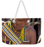 African Woman Weekender Tote Bag