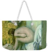 After The Bath Weekender Tote Bag