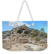 Agioi Saranta Cave Church - Cyprus Weekender Tote Bag