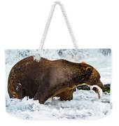 Alaska Brown Bear Weekender Tote Bag