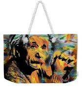Albert Einstein.. - By Prar Weekender Tote Bag