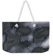 Alien Fluid Metal Weekender Tote Bag