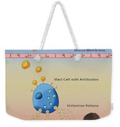 Allergic Response, Illustration Weekender Tote Bag