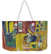 Alpine Kitchen Weekender Tote Bag