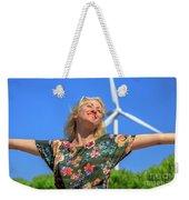 Alternative Energy Concept Weekender Tote Bag