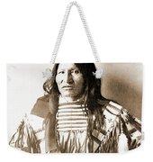 American Indian Chief Weekender Tote Bag
