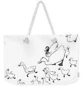 Andersen: Ugly Duckling Weekender Tote Bag